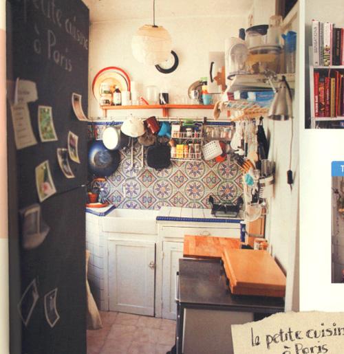 ... 狭いキッチンが素敵